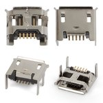 Charge Connector compatible with Tablets; Cell Phones, (5 pin, micro USB type-B, type 4)