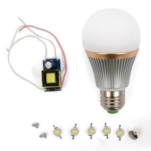 LED Light Bulb DIY Kit SQ-Q22 5 W (cold white, E27)
