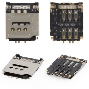 SIM Card Connector compatible with Huawei Ascend G6-U10