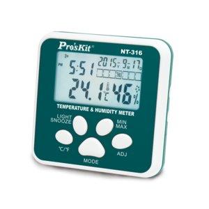 Mini Temperature & Humidity Meter Pro'sKit NT-316