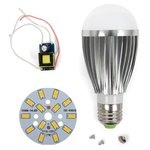 LED Light Bulb DIY Kit SQ-Q03 7 W (warm white, E27), Dimmable