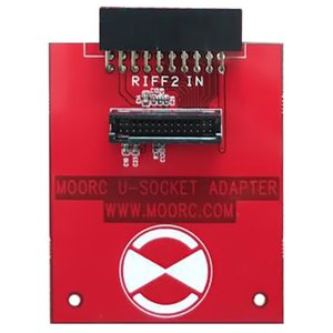 MOORC U-Socket Adapter for Riff Box 2