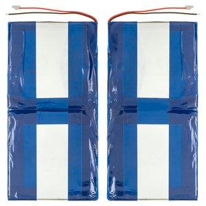 Battery, (97 mm, 190 mm, 3.4 mm, Li-ion, 7.4 V, 4000 mAh)