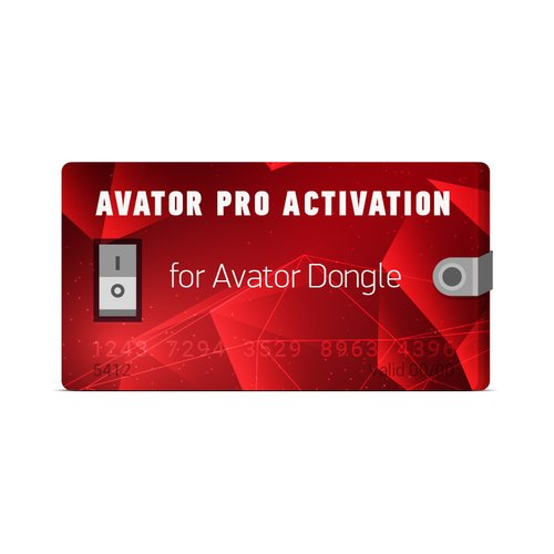 Avator Pro Activation for Avator Dongle