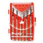 Juego de destornilladores Pro'sKit SD-9815