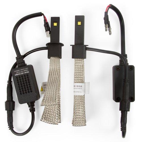 Набор светодиодного головного света UP-5HL-H1W-PHI-2500Lm (H1, 2500 лм, холодный белый)
