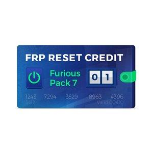 1 кредит для сброса FRP (Furious Pack 7)