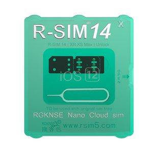Универсальная смарт-карта R-SIM 14 X для разблокировки iPhone XR / XS / MAX /  X / 8 / 8 Plus / 7 / 7Plus / 6S / 6S Plus / 6 / 6 Plus / 5 SE / 5S