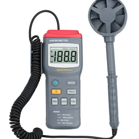 Цифровий анемометр MASTECH MS6250