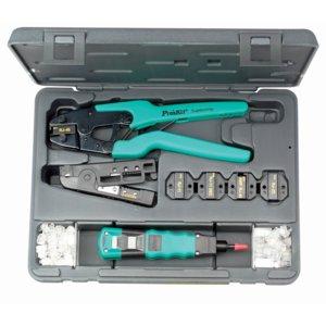 Набір інструментів 1PK-935 для роботи з витою парою