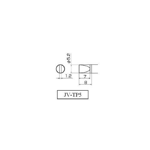 Паяльне жало Jovy Systems JV TP5