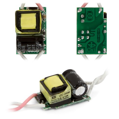 Драйвер світлодіодної лампи 1 5 Вт 85 265 В, 50 60 Гц
