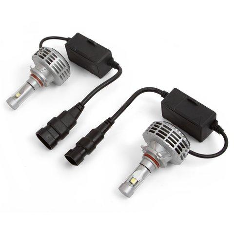 Набір світлодіодного головного світла UP 6HL 9005 HB3 , 3000 лм, сумісний з CAN шиною