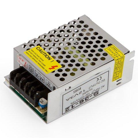 Блок живлення для світлодіодних стрічок 12 В 3 A 36 Вт