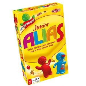 Настольная игра Tactic Alias Junior дорожная версия (на украинском языке)