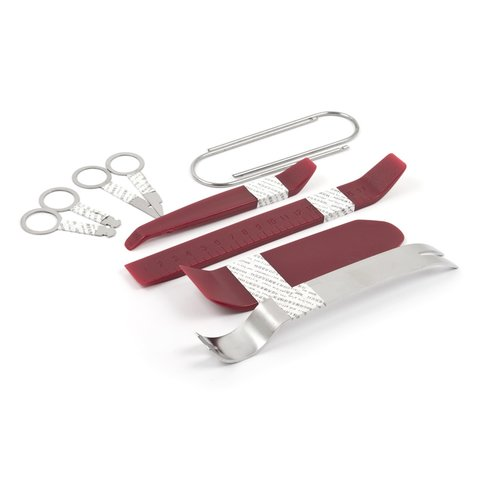 Car Trim and Radio Removal Tool Kit 10 Pieces, Polyurethane Stainless Steel