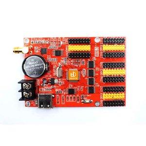Tarjeta de control para pantallas LED Huidu HD-W63  (1024×128, 2048×32)